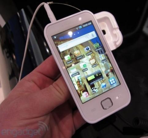 Samsung представила конкурента iPod Touch