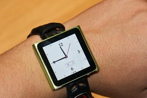 Как сделать из iPod Nano часы