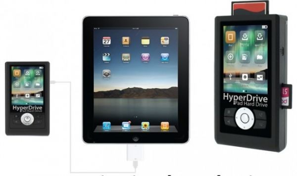 HyperDrive – 750 ГБ винчестер для iPad