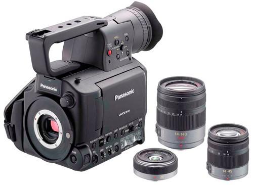 Panasonic выпускает камеру AG-AF100 со сменной оптикой
