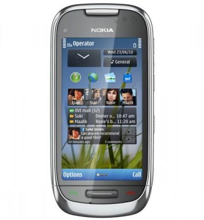 Анонсирован смартфон Nokia C7