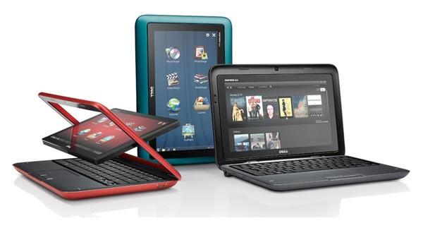 Интересный гибрид планшета и нетбука от Dell