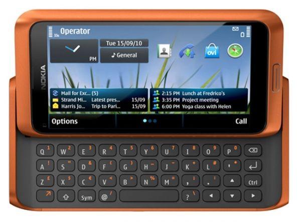Nokia анонсирует смартфоны E7