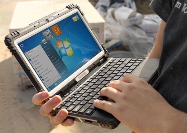 Прочный ноутбук Algiz XRW