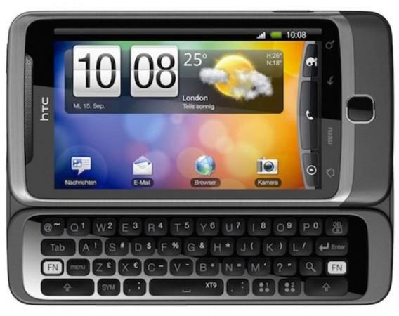 Android-смартфон с QWERTY-клавиатурой HTC Desire Z