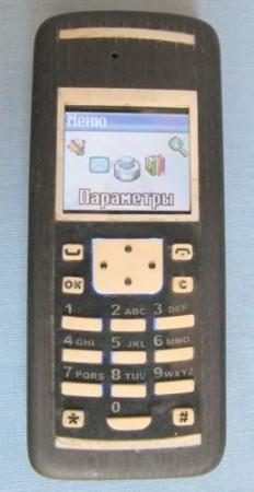 Экслюзивный телефон в теле из мореного дуба