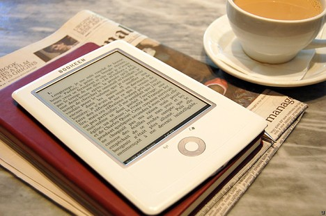 Новая читалка Cybook Orizon от Bookeen