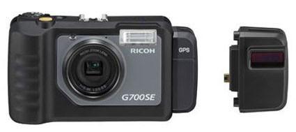 Ricoh готовит водонепроницаемую G700SE с Bluetooth к 2011 году