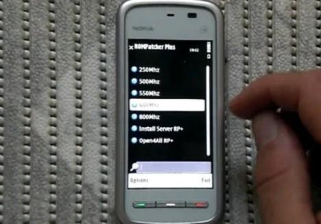 Nokia 5230 разогнали до 800 МГц!