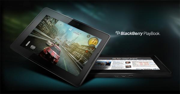Состоялась презентация планшета BlackBerry PlayBook