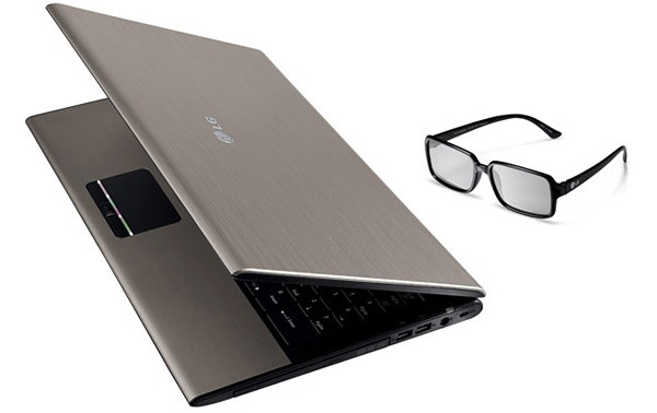3D-ноутбук LG Xnote A510 3D
