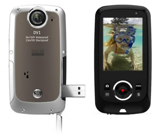 DV1 mini HD: прочный камкордер от GE