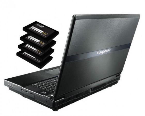 Четыре SSD в ноутбуке?