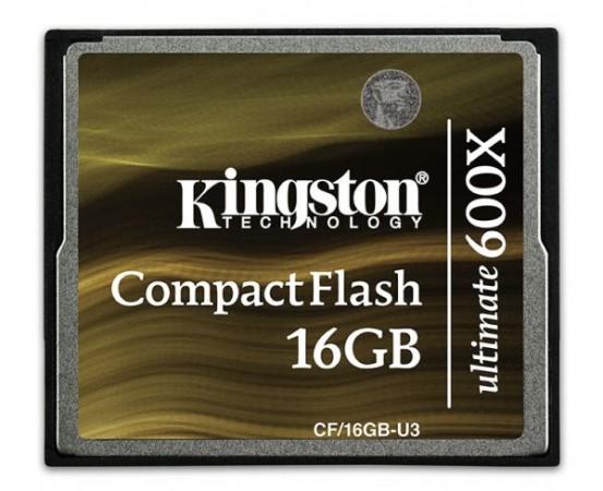 Kingston запускает скоростные карты памяти CompactFlash