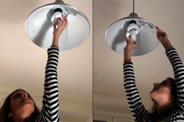 Пожарная сигнализация в лампочке