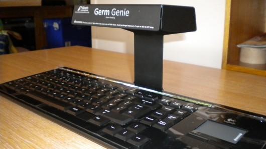 Germ Genie убивает 99% микробов на клавиатуре