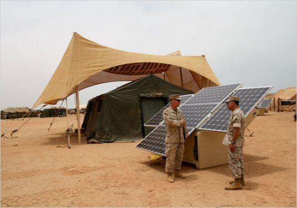 Армия США переходит на «зеленую» энергию