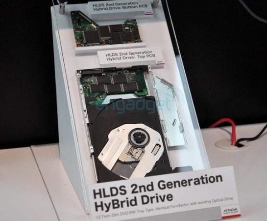 Hitachi-LG показала второе поколение гибридных ODD