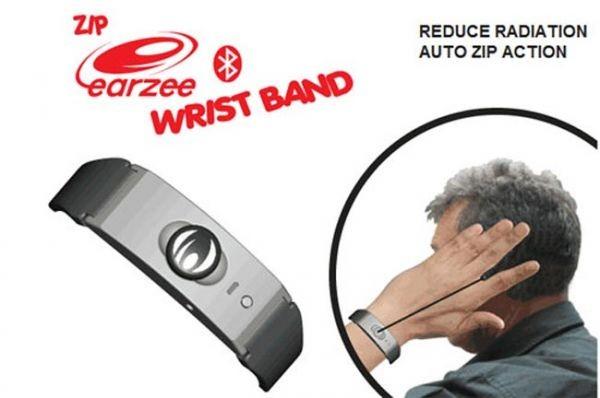 Bluetooth-гарнитура на браслете Zip Earzee