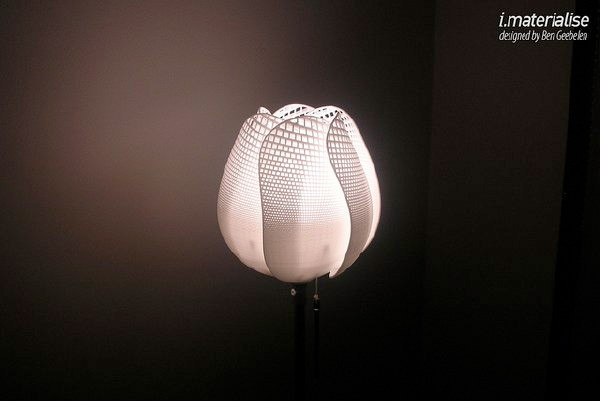 Лампа-тюльпан, спроектированная в MS Excel