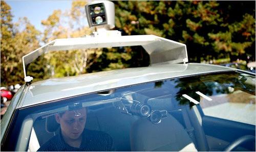 Google тестирует автомобили с автопилотом