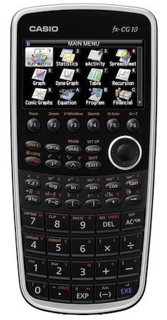 Графический калькулятор Casio Prizm с цветным дисплеем