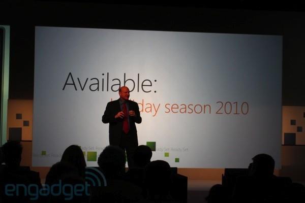 Живая трансляция Microsoft Windows Phone 7 Launch Event