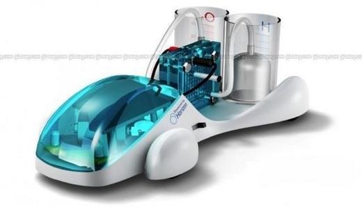 Игрушка на экологическом топливе