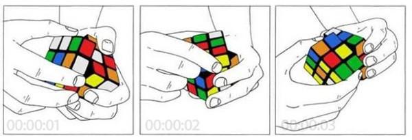 Как разобраться с кубиком Рубика за 6 секунд?