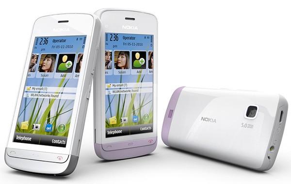 Новый бюджетный тачфон Nokia C5-03