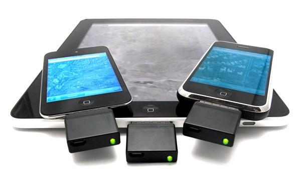 GPS-модуль для iPad, iPod и iPhone