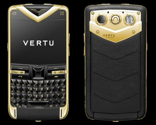 Золотой Vertu Constellation Quest стоит 27 000 $