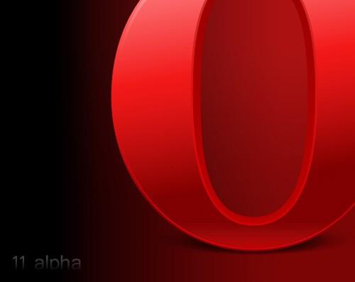 Состоялся релиз Opera 11 alpha