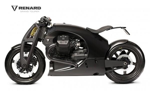 Мотоцикл из композитных материалов