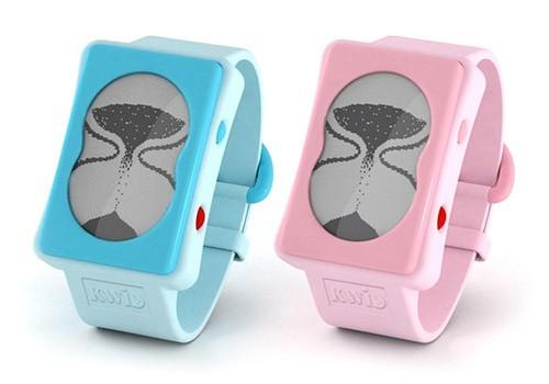 Электронные часы KWID в виде песочных часов