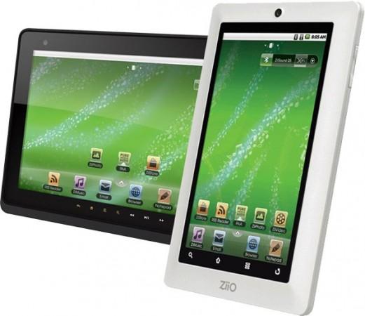 Creative собирается выпустить 7'' и 10'' Android-планшеты Ziio