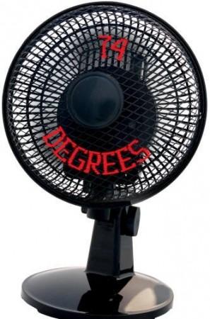 Вентилятор с градусником
