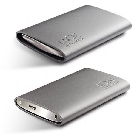 LaCie Starck: Портативный USB 3.0 винчестер для стиляг