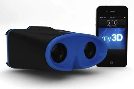 3D на iPhone – 3D-очки от Hasbro