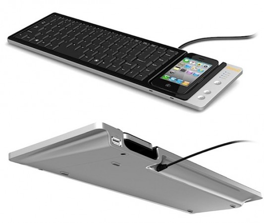 Импровизированная ASUS Eee Keyboard из iPhone