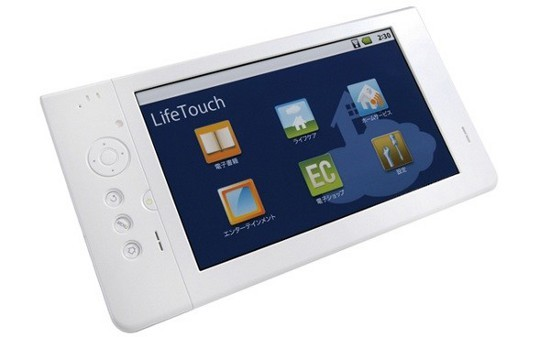 Android-таблетка NEC LifeTouch