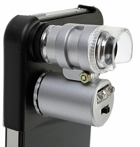 Микроскоп для iPhone с подсветкой и 60X увеличением X_28ba3570