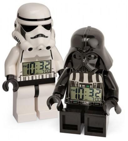 Будильники в стиле LEGO и Star Wars