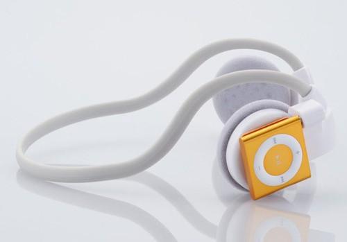 «Беспроводные» наушники для iPod Shuffle
