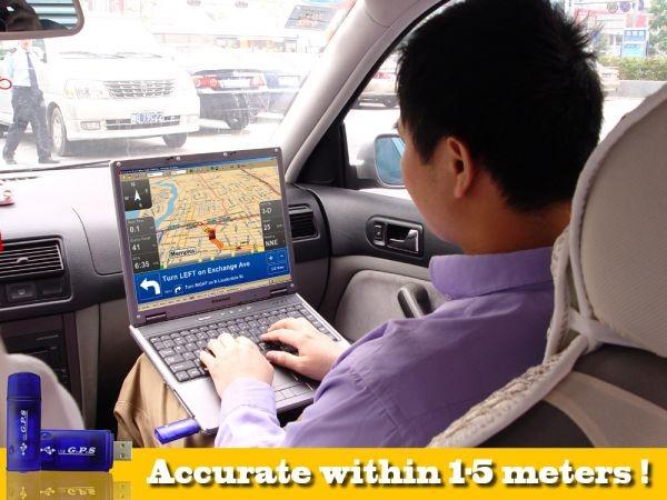 Навигационный USB-приемник USB GPS Receiver