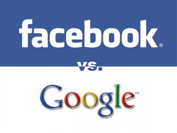 Facebook становится популярнее Google