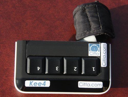 Kee4 – мини-клавиатура для одной руки