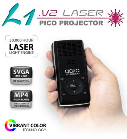 Миниатюрный проектор AAXA L1 v2