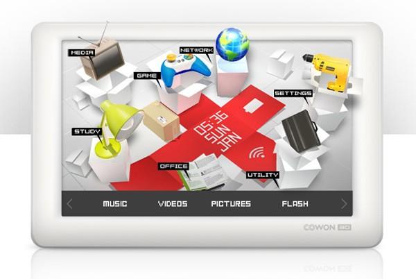 Cowon 3D: экстраординарный медиаплеер