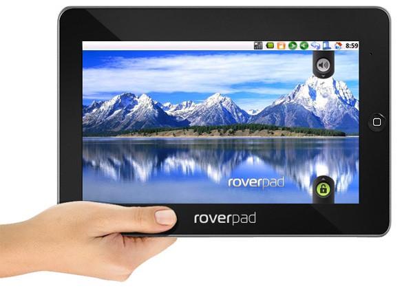 RoverPad – 10-дюймовый планшет из России